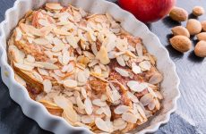 Яблочный пирог по немецки