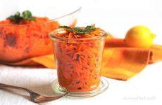 Салат из моркови по-немецки