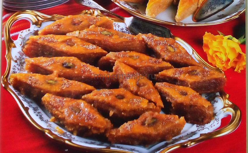 пахлава бакинская состав, пахлава бакинская без дрожжей, азербайджанская пахлава рецепт