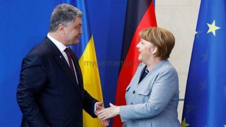 Порошенко и Меркель спелись в отношении Сирии