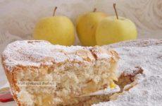 Яблочный пирог шарлотка «Неоспоримая классика»