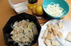 Вкусный рецепт соленой рыбы!