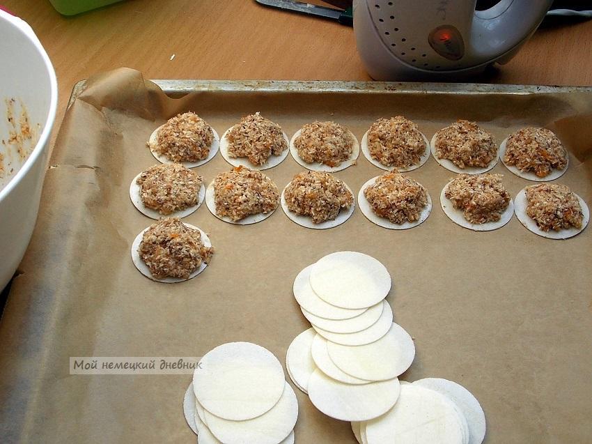 """Печенье """"макроны"""" с кокосом"""