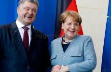 Меркель объяснила Порошенко зачем нужен «Северный поток — 2»