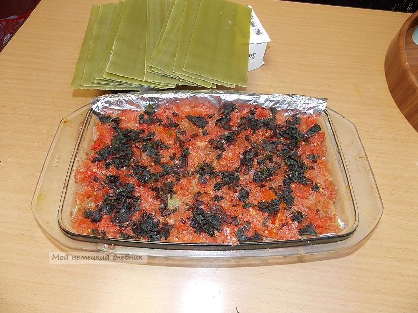 лазанья рецепт с фаршем