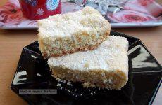 Вкусная выпечка с кокосовой стружкой. Немецкий рецепт